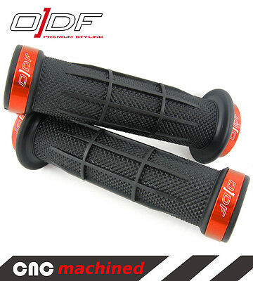 "Hand Handle Bar Grips Vespa GTS, 964, LX, LXV, S, Sport ""Stripe"" orange"