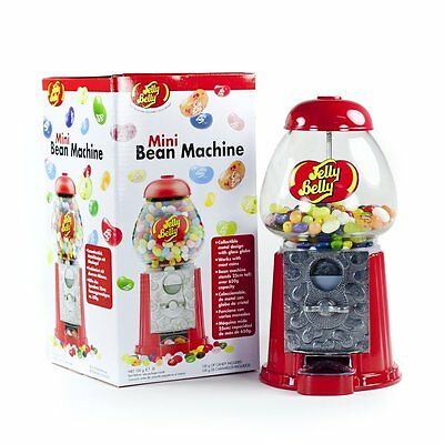 Official Jelly Belly Dispenser Machine Money Box Bank Candy Sweet Vending Gift