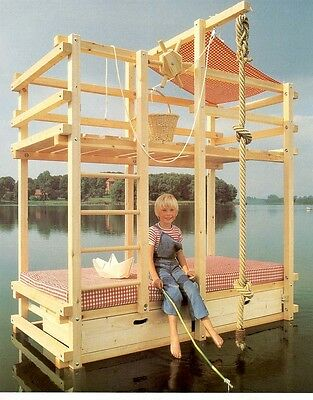 Building plans for Pirate Adventure Bed Play bed Gullibo and similar MOA A45
