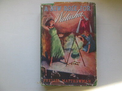 Acceptable - A New Role for Natasha. - Matthewman, Phyllis 1945-01-01 Cracked hi