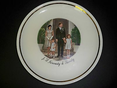 J. F. Kennedy & Family Photo Plate