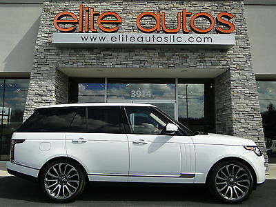 2014 Land Rover Range Rover Autobiography Sport Utility 4-Door Range Rover AUTOBIOGRAPHY SUPERCHARGED 22 INCH WHEELS EXPORT OK Perfect !