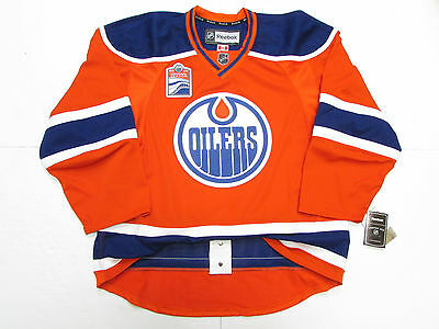 Edmonton Oilers Authentic Third Inaugural Season Reebok Edge 2.0 7287 Jersey