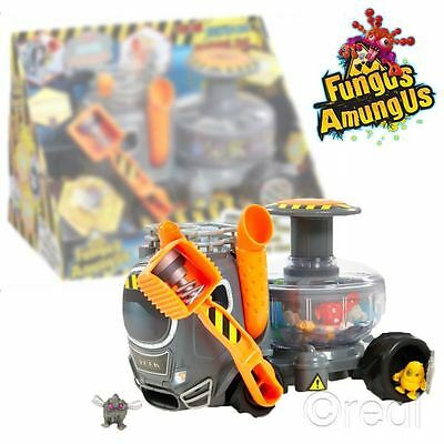 New Fungus Amungus The Yuck Truck Playset & Fludgeball Funguy Figure Official