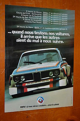 French 1973 Bmw 635 Race Car Winner At Euro Races - Classic European Racing 70S