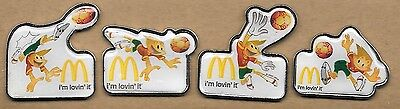 4 Pins  McDonald´s Euro Portugal