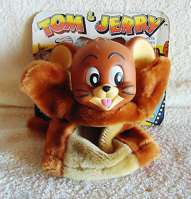 Tom & Jerry Hand Puppet 1989 - Turner - New