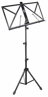 TGI MS20 Music Stand and Carry Case - BLACK - CLEARANCE SALE!!