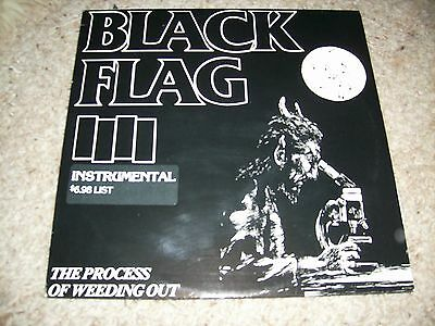 Lp Black Flag The Process Of Weeding Out