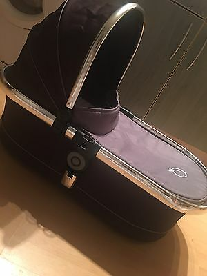 Icandy peach Carrycot In Blackjack