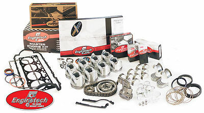 Enginetech Engine Rebuild Kit for Small Block Chevy 350 Overhaul Kit 5.7L V8