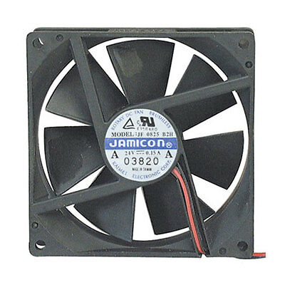Jamicon Corporation JF0825B2H-005-065R 24V 80mm DC Brushless Fan