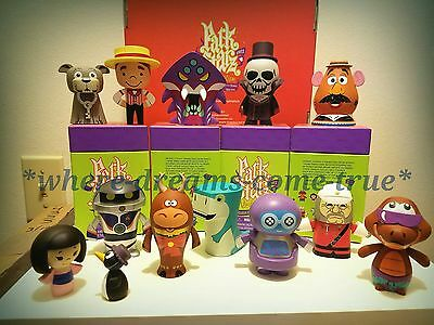 Vinylmation Park Starz 4 Series Figures Ne w/open box complete set of 12 Chaser