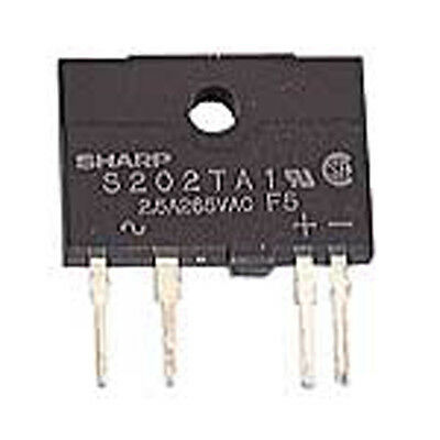 Sharp Electronic Components S202TA1 1.2 Volt 20 mA Single Pole Single Thr 2 pcs