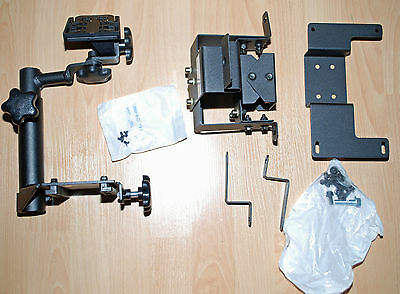 Combo Pack Rockwell Collins Police Vehicle Mount For Mfd, Keyboard, Monitor