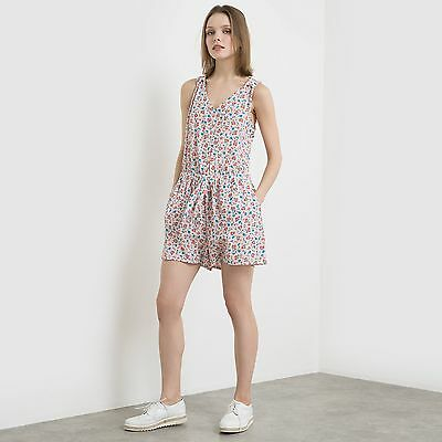 La Redoute Womens Sleeveless Floral Playsuit