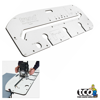 Trend KWJ700 Trade Kitchen Worktop Router Jig For Worktops up to 700mm Wide