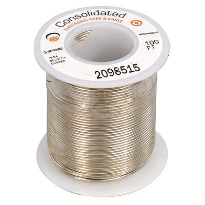 24 AWG Solid Bare Copper Bus Bar Wire 205 Feet - $9 95