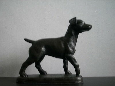 Patterdale Terrier In Cold Cast Bronze