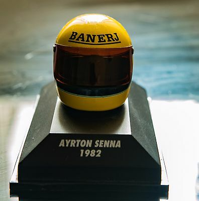 Ayrton Senna 1:8 scale helmet (1982 season)  by Minichamps
