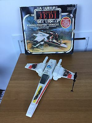 Vintage Original Star Wars X Wing Fighter With Box