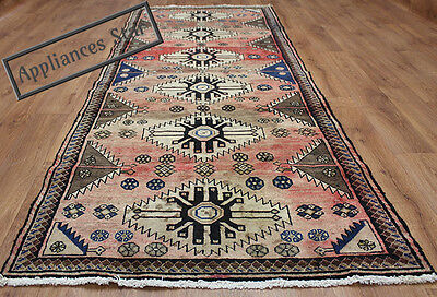 OLD WOOL HAND MADE PERSIAN ORIENTAL FLORAL RUNNER AREA RUG CARPET 264x100CM