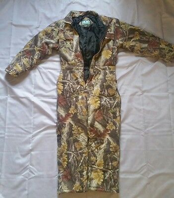 Master Sportsman Rugged Outdoor Hunting Coverall Size Large