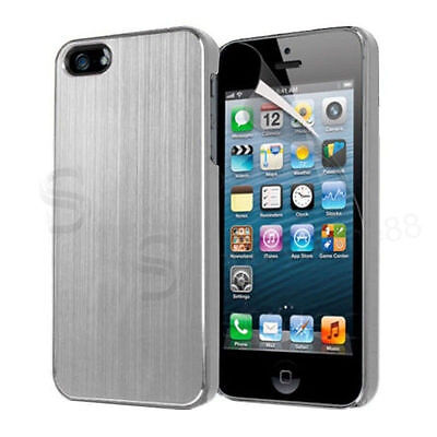 Stylish Hard Back Case Cover for Apple iPhone 5 5S with FREE Screen Protector UK