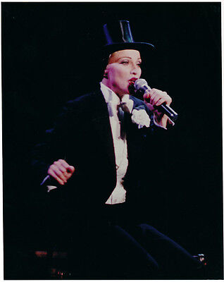 Madonna as Marlene Dietrich Like A Virgin The Girlie Show Full Color Photo 8X10