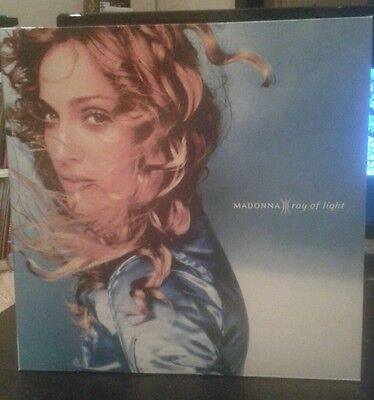Madonna Ray of Light Album Vinyl LP 2x12""