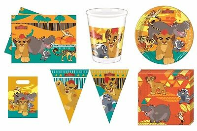 Disney The Lion Guard (Lion King) Birthday Party Tableware Choose Required Item