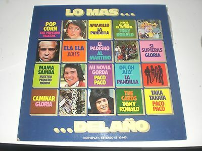 Lp Lo Mas... Del Año - Movieplay 1972 Gatefold Vg+