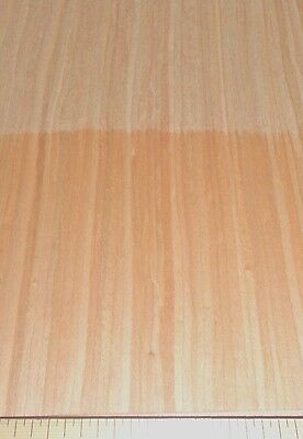 """Cherry composite wood veneer 24"""" x 48"""" with paper backer 1/40th"""" thickness """"A"""""""