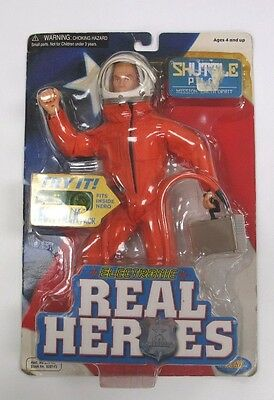 2001 Electronic Real Heroes Shuttle Pilot Action Figure