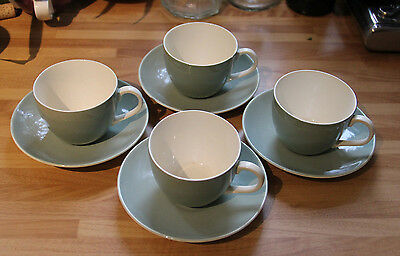Poole Pottery Set of 4 of Demi-Tasse Coffee Cups.