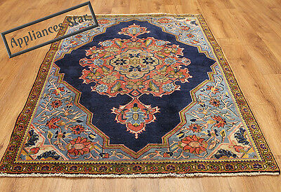 OLD WOOL HAND MADE PERSIAN ORIENTAL FLORAL RUNNER AREA RUG CARPET 150x100CM