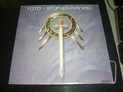 Single Toto - Stop Loving You - Cbs Europe 1988 Vg+/nm
