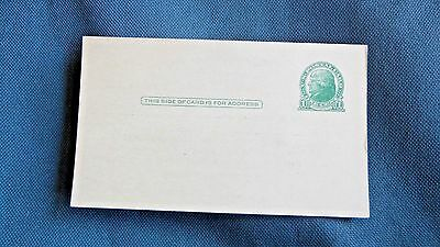 Forest City Nc Masonic 1 Cent Post Card
