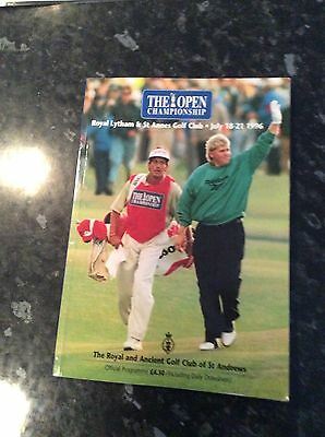 The Open Championship Golf Brochure 1996 At Lytham / St Annes Club