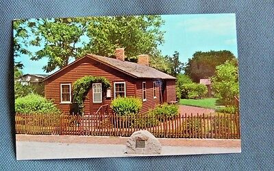 Vintage First Day Issue Post Card 1978 Carl Sandburgs Birthplace