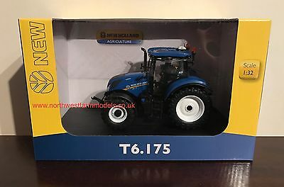 Universal Hobbies New Holland T6.175 1/32 Scale Tractor 4921 **new Model**