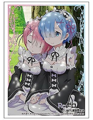 Life In a Different World Re: Zero Rem & Ram Trading Card Game Character Sleeves