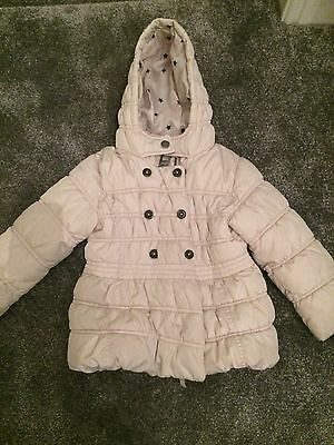 Girls Winter Coat From Next Age 3-4. Fully Lined With Hood. Get Condition.