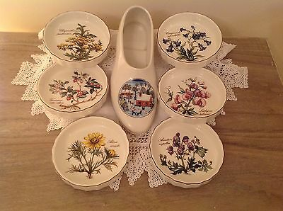 Villeroy Boch Naif Laplau Christmas Shoe and dishes
