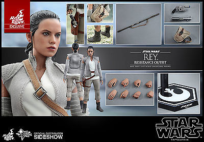 Hot Toys Star Wars Force Awakens MMS377 REY RESISTANCE OUTFIT 1/6 Scale Figure