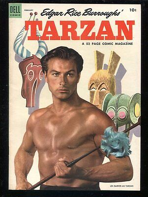 Tarzan 53 NM- 1953 Dell Comics Painted cover Picasso African masks