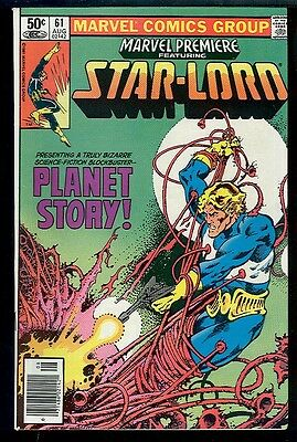 Marvel Premiere 61 VF Starlord  1980 Large Scans