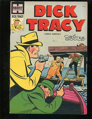 Dick Tracy Monthly 83 VF+ Bethlehem Date Stamp