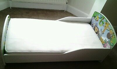Toddlers Bed & Mattress