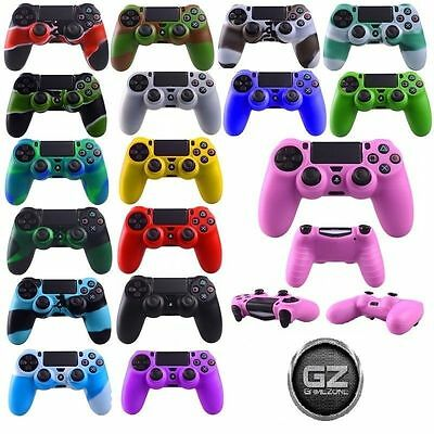 Etui Coque Silicone Pour Manette Sony Ps4 Dualshock 4, 21 Couleurs Playstation
